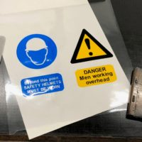 Screent Printing Safety Signs
